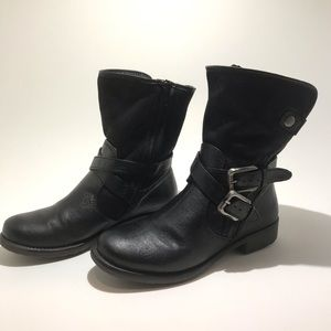 BareTraps Shoes - BARETRAPS Sabella leather and faux fur boots